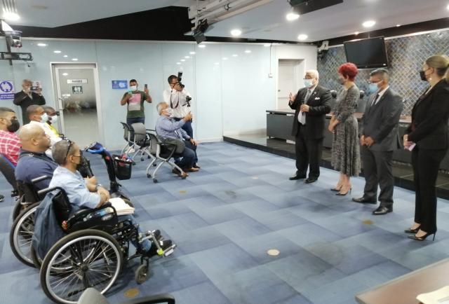 Las personas con discapacidad piden a la legislatura aumentar el porcentaje del subsidio electoral para la formación política