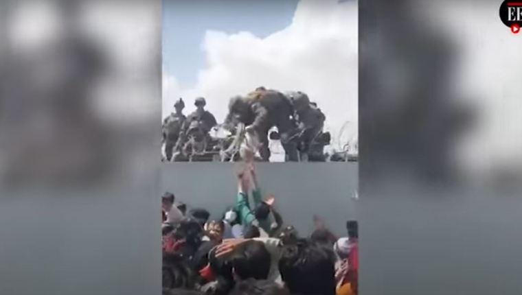 Lo que pasó con el bebé rescatado por marines en el aeropuerto de Kabul que sacudió al mundo - Prensa Libre