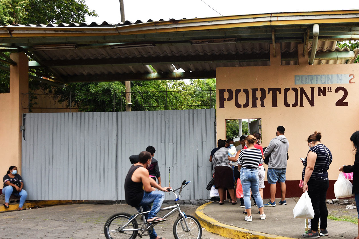 Más de 440 hospitalizados y 90 murieron por covid-19 en Nicaragua
