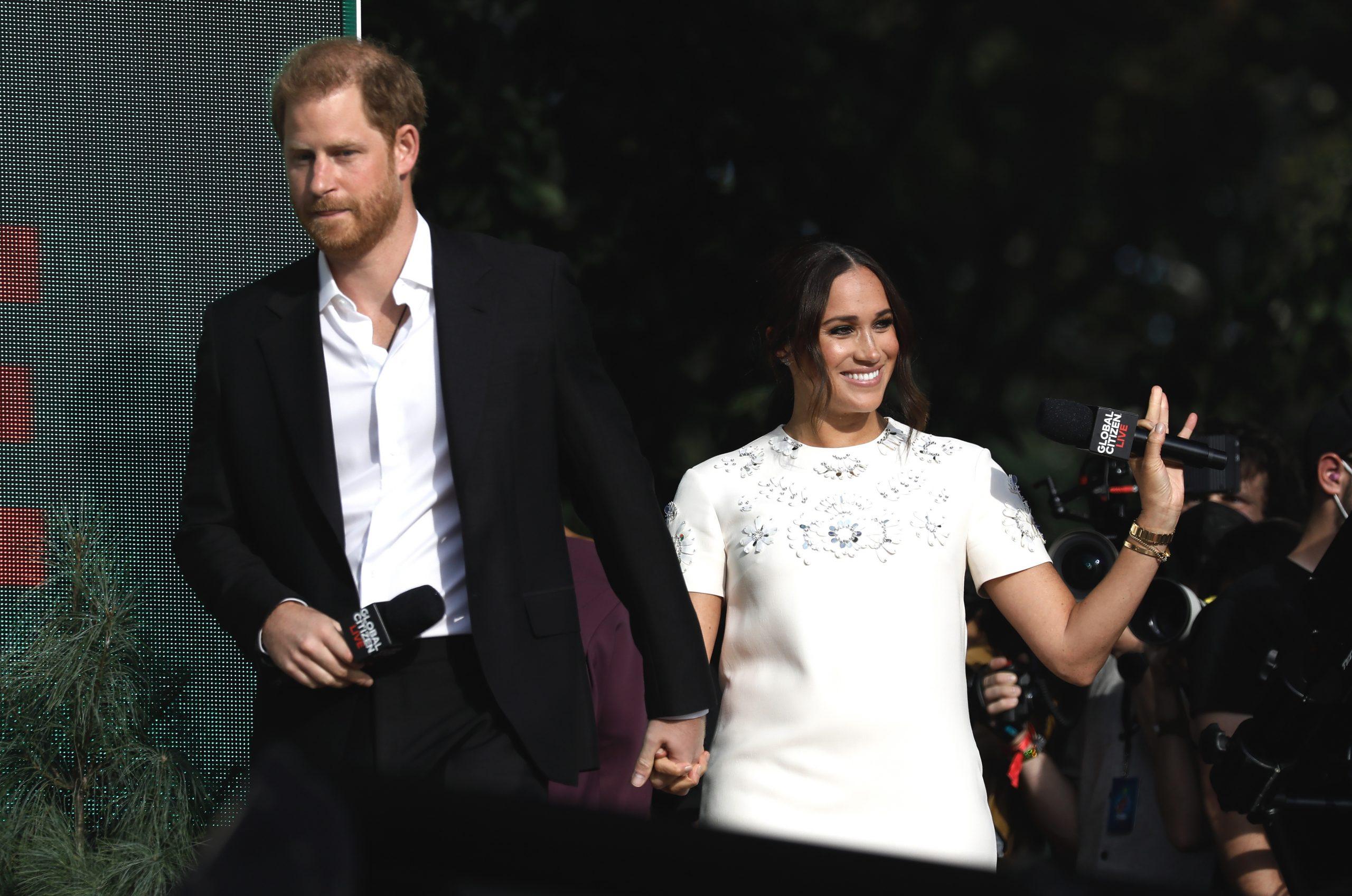 Meghan Markle y el príncipe Harry tienen un nuevo conflicto que se cree que está relacionado con el bautismo de Lilibet