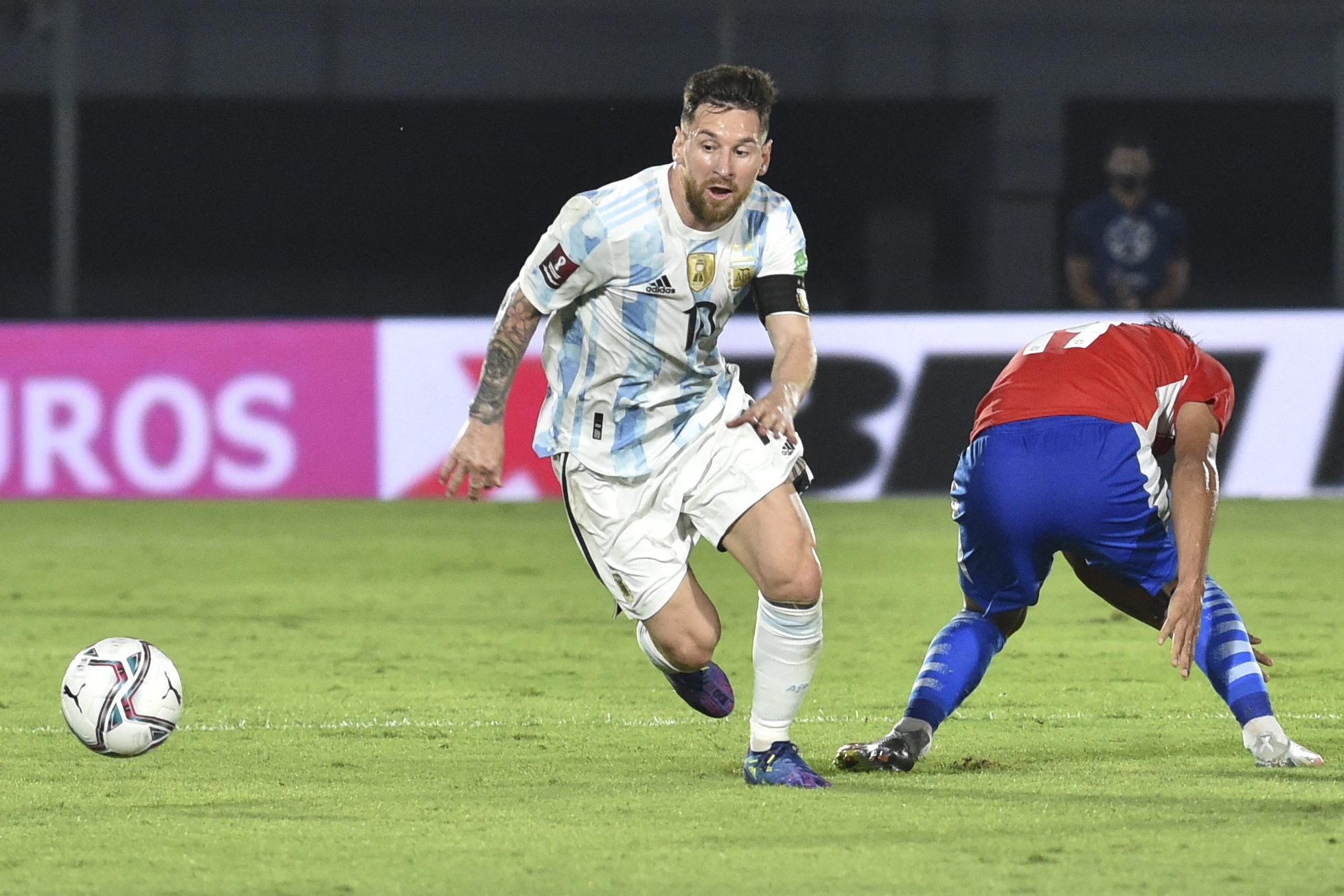 Paraguay neutraliza a la Argentina de Lionel Messi camino a Qatar 2022 - prensa Libre