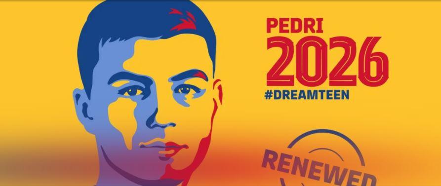 Pedri renueva hasta 2026 con el Barcelona con cláusula de 1.000M € - Prensa Libre