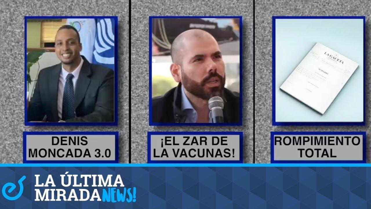 Petipois 3.0;  Lauraano el astronauta;  La ruptura con Colombia, en La Último Mirada