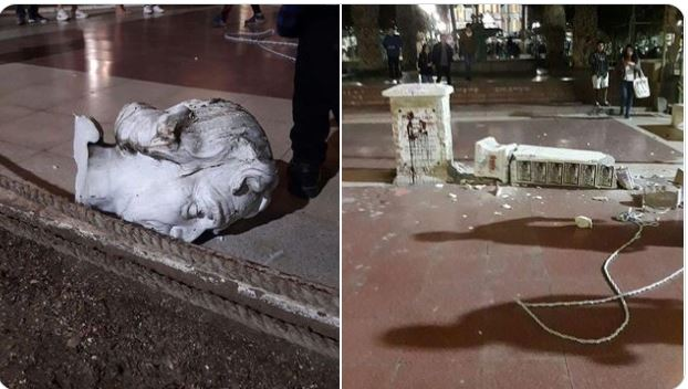 Que estatuas de Cristóbal Colón fueron demolidas en América y por que - Prensa Libre