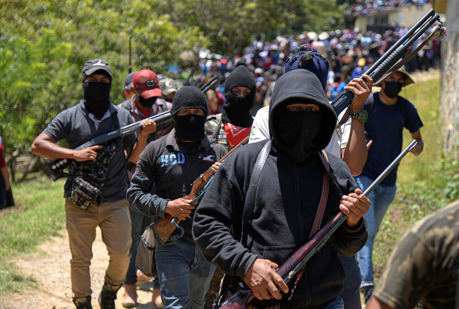 Que sabemos del grupo de civiles armados que surgió en Chiapas, México - Prensa Libre