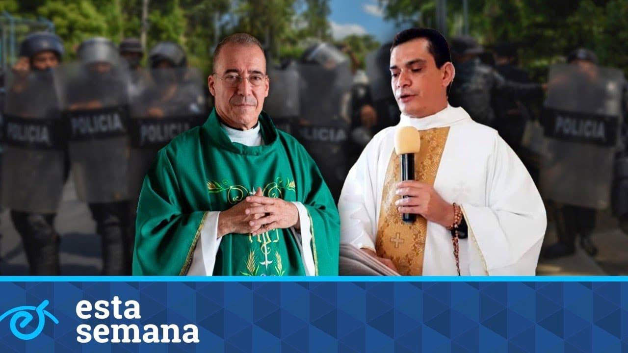 """Sacerdotes Edwin Román y Vicente Martínez: """"No diseñamos una Iglesia con bozal"""""""