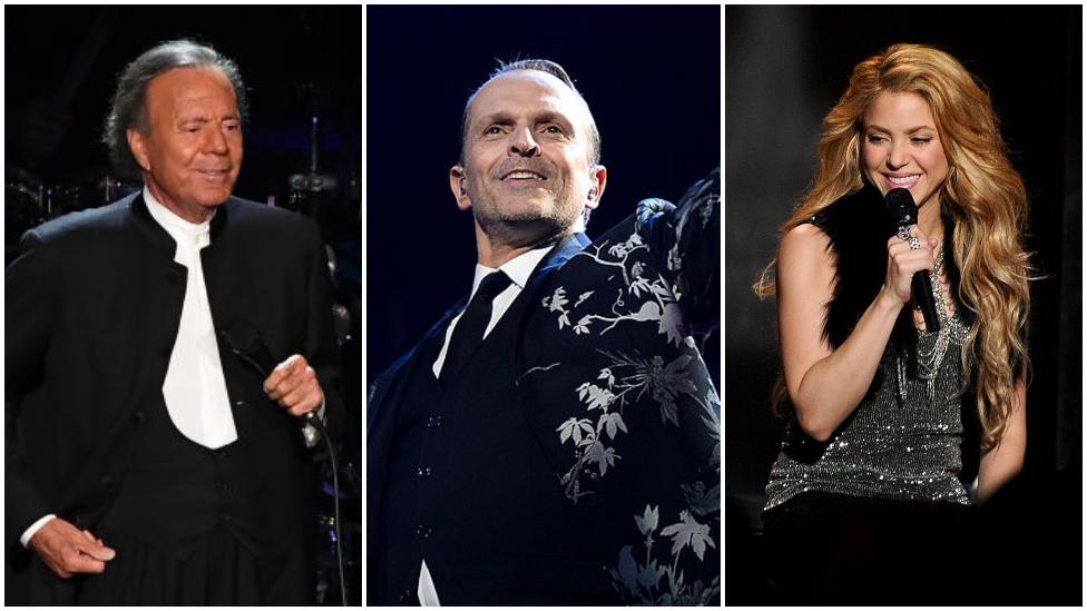 Shakira, Miguel Bosé, Julio Iglesias y otros famosos que aparecen en la encuesta sobre paraísos fiscales - Prensa Libre
