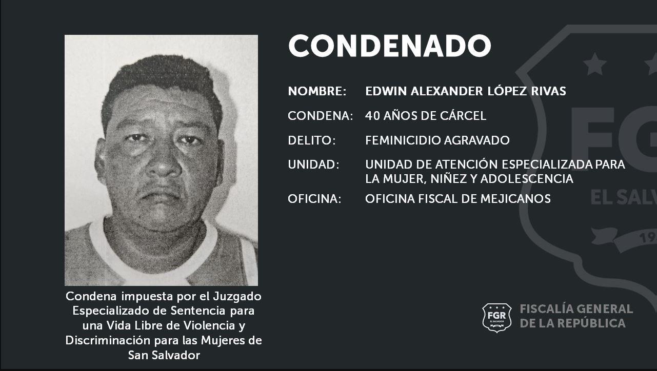 Un hombre que asesinó a su esposa frente a uno de sus hijos condenado a 40 años de prisión - Prensa Libre