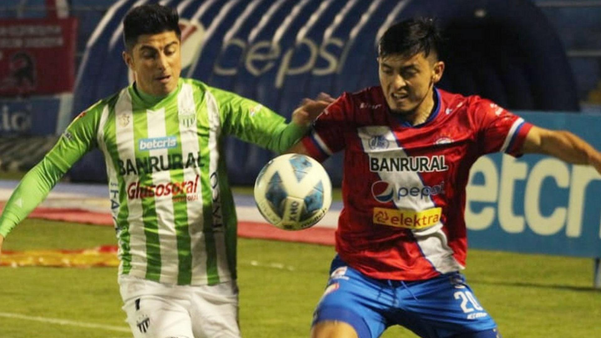 Xelajú no pudo consumir el empate ante Antigua que ganó y sigue liderando Apertura 2021 - Prensa Libre