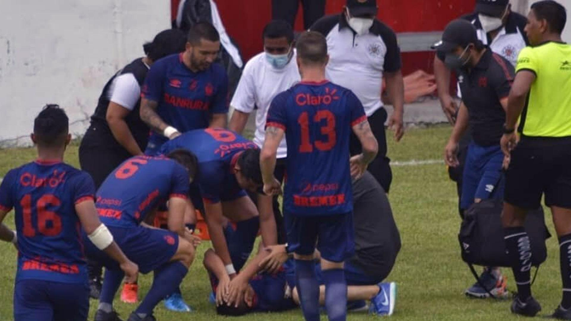 otros accidentes futbolísticos en Guatemala - Prensa Libre